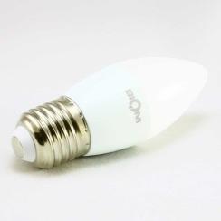 Світлодіодна лампа Biom BT-547 C37 4W E27 3000К матова. Фото 3