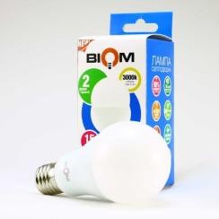 Светодиодная лампа Biom BT-515 A65 15W E27 3000К матовая. Фото 2
