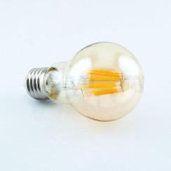 Світлодіодна лампа Biom FL-411 A60 8W E27 2350K Amber. Фото 4