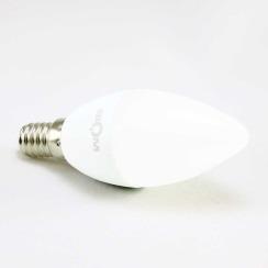 Світлодіодна лампа Biom BT-550 C37 4W E14 4500К матова. Фото 3