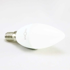Світлодіодна лампа Biom BT-570 C37 7W E14 4500К матова. Фото 4