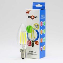 Светодиодная лампа Biom FL-306 C37 4W E14 4500K