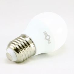 Светодиодная лампа Biom BT-563 G45 7W E27 4500К матовая. Фото 3