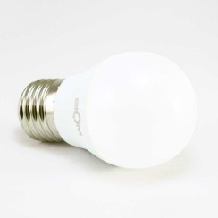 Светодиодная лампа Biom BT-563 G45 7W E27 4500К матовая. Фото 2
