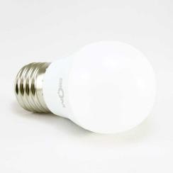 Світлодіодна лампа Biom BT-543 G45 4W E27 3000К матова. Фото 3