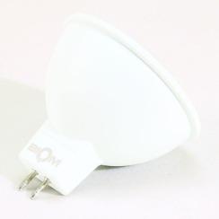 Світлодіодна лампа Biom BT-561 MR16 7W GU5.3 3000К матова. Фото 3