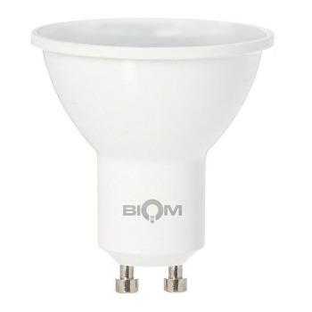 Світлодіодна лампа Biom BT-572 MR16 7W GU10 4500К матова