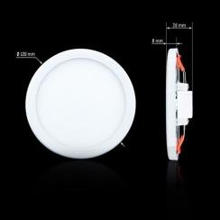 Светильник светодиодный Biom СL-R9W-5 9Вт круглый 5000К. Фото 4