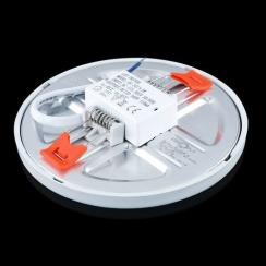 Світильник світлодіодний Biom СL-R9W-5 9Вт круглий 5000К. Фото 3