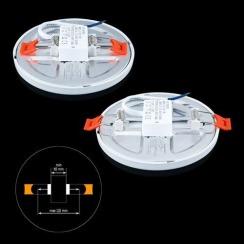 Світильник світлодіодний Biom СL-R9W-5 9Вт круглий 5000К. Фото 2