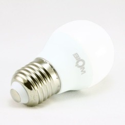 Світлодіодна лампа Biom BT-544 G45 4W E27 4500К матова. Фото 2