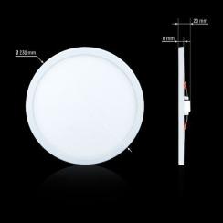Світильник світлодіодний Biom CL-R22-5 22Вт круглий 5000К. Фото 3