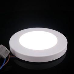 Світильник світлодіодний Biom SF-R7 W 7Вт 5000K накладний. Фото 3