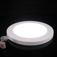 Светильник светодиодный Biom SF-R12 W 12Вт 5000K накладной. Фото 4