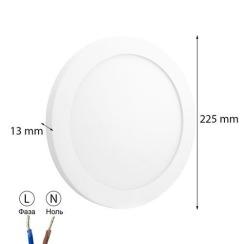 Світильник світлодіодний OEM SF-R18 W 18Вт 5000K накладний. Фото 5