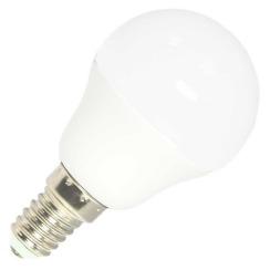 Світлодіодна лампа Biom BT-566 G45 7W E14 4500К матова. Фото 2