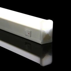 Світильник світлодіодний Biom T5 6Вт 6000K AC220 пластик з кнопкою. Фото 6