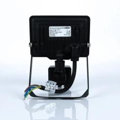 Світлодіодний прожектор Biom S5 10W SMD Slim 6200К 220V IP65 з датчиком руху. Фото 4