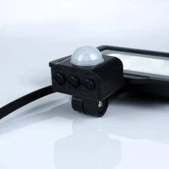 Світлодіодний прожектор Biom S5 20W SMD Slim 6200К 220V IP65 з датчиком руху. Фото 3