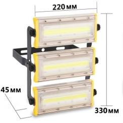Світлодіодний прожектор BIOM 50W COB Professional IP65 slim 220V. Фото 5