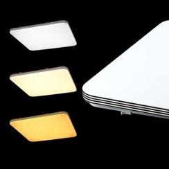 Светильник светодиодный Biom SMART SML-S01-90/2 3000-6000K 90Вт с д/у. Фото 3