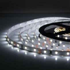 Світлодіодна стрічка Biom 2835-60 IP20 W холодний білий, негерметична, 1м. Фото 4