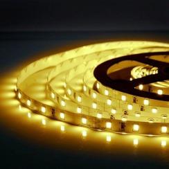 Світлодіодна стрічка Biom 2835-60 IP20 WW теплий білий, негерметична, 1м. Фото 4