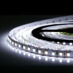 Світлодіодна стрічка Biom 2835-120 IP20 W холодний білий, негерметична, 1м. Фото 4