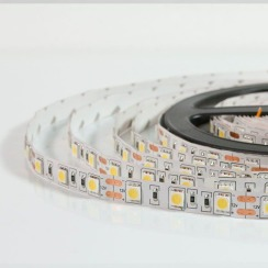 Світлодіодна стрічка Biom 5050-60 IP20 WW теплий білий, негерметична, 1м. Фото 3