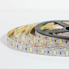 Світлодіодна стрічка Biom 5630-60 IP20 W холодний білий, негерметична, 1м. Фото 3