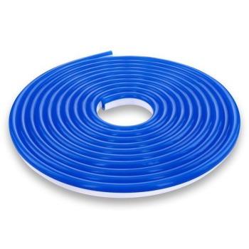 Світлодіодний неон 12В 2835-120 B IP67 синій, герметичний, 1м