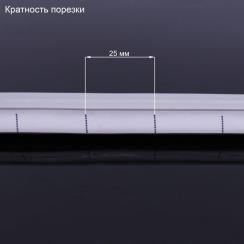 Светодиодный неон 12В 2835-120 B IP67 синий, герметичный, 1м. Фото 3