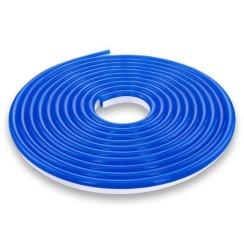 Світлодіодний неон 220В 2835-120 B IP67 синій, герметичний