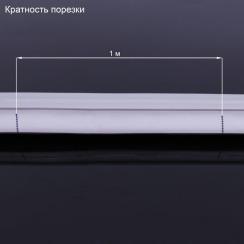 Світлодіодний неон 220В 2835-120 B IP67 синій, герметичний. Фото 3