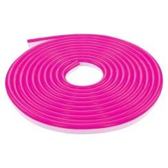 Светодиодный неон 220В 2835-120 P IP67 розовый, герметичный, 1м