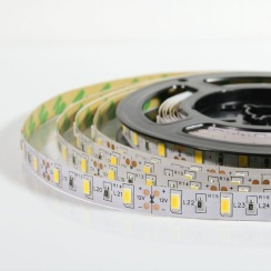 Світлодіодна стрічка Biom 5630-60 IP20 WW теплий білий, негерметична, 1м. Фото 3