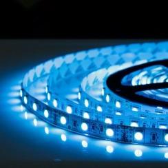 Світлодіодна стрічка Biom 5050-60 IP20 RGB, негерметична, 1м. Фото 6