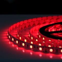 Світлодіодна стрічка Biom 5050-60 IP20 RGB, негерметична, 1м. Фото 5