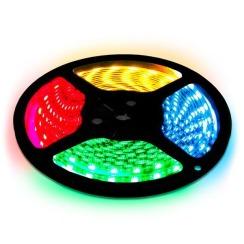 Світлодіодна стрічка Biom 5050-60 IP65 RGB, герметична, 1м