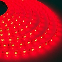 Світлодіодна стрічка Biom 5050-60 IP65 RGB, герметична, 1м. Фото 3