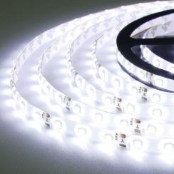 Світлодіодна стрічка Biom 2835-60 IP65 W холодний білий, герметична, 1м. Фото 4