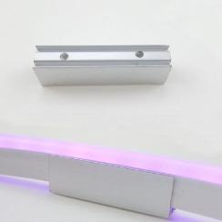 Монтажное крепление для светодиодного неона 8x16 (5см). Фото 2