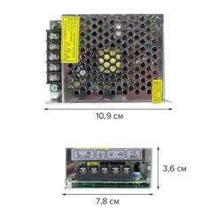Блок живлення Biom DC12 120W 10А TR120-12. Фото 2