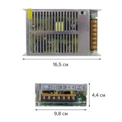 Блок живлення Biom DC12 200W 16,5А TR200-12. Фото 2