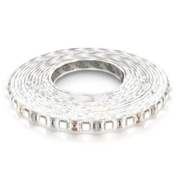 Світлодіодна стрічка Biom 5050-60 IP65 W холодний білий, герметична, 1м