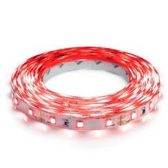 Світлодіодна стрічка Biom 2835-60 IP20 R червоний, негерметична, 1м