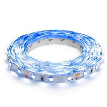 Светодиодная лента Biom 2835-60 IP20 B синий, негерметичная, 1м