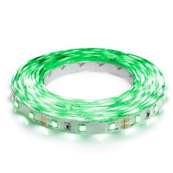 Светодиодная лента Biom 2835-60 IP20 G зелёный, негерметичная, 1м