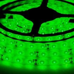Светодиодная лента Biom 2835-60 IP65 G зелёный, герметичная, 1м. Фото 3