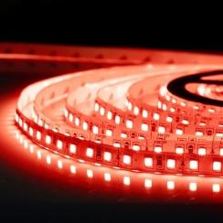 Светодиодная лента Biom 2835-120 IP20 R красный, негерметичная, 1м. Фото 3